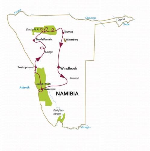 Namibia Rundreise 15 Tage