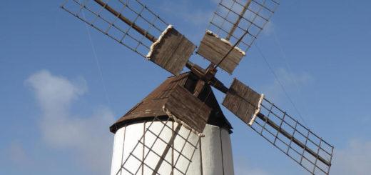 Windmühle auf Fuerteventura - Sarah Becker