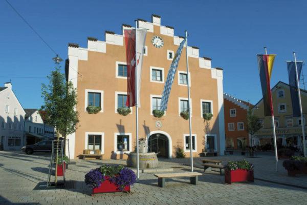 Rathaus von Dietfurt - www.naturpark-altmuehltal.de - ©www.naturpark-altmuehltal.de