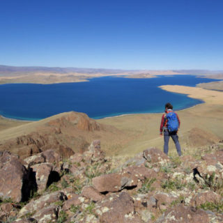 Wandern am Khar-See - Darek Wylezol