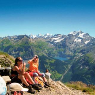 Wanderpause auf dem Bärentrek - Freia Quass