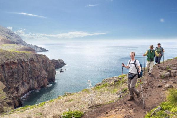 Wanderer auf der Ponta de São Lourenço - Klaus Hoffmann