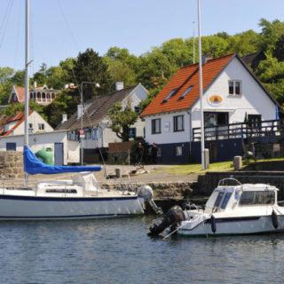 Fischerdorf Vang an der Nordwestküste Bornholms - Archiv - © Destination Bornholm