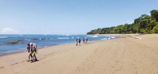 Strandwanderung im Corcovado-NP - Patrick Kleinkorres
