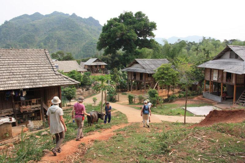 Wanderung im Mai Chau Tal - Anja Thöring