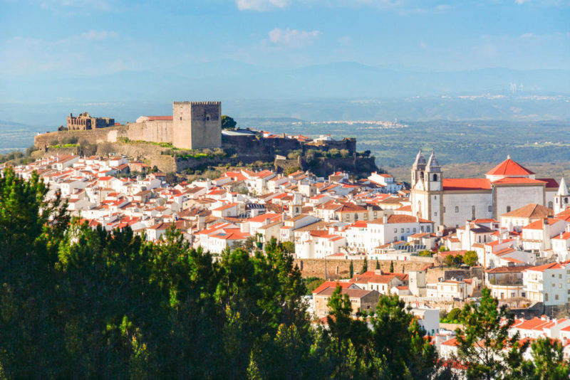 Blick auf Castelo de Vide - Peter Bartel