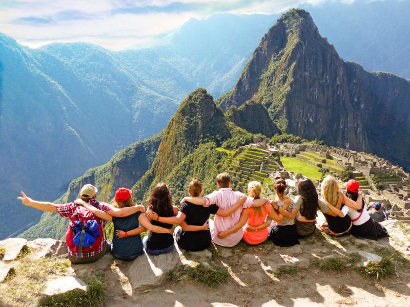 Gruppe in Machu Picchu - Alina Kirsten