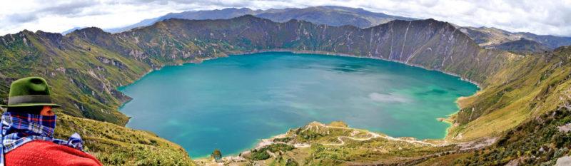 Quilotoa-Lagune -