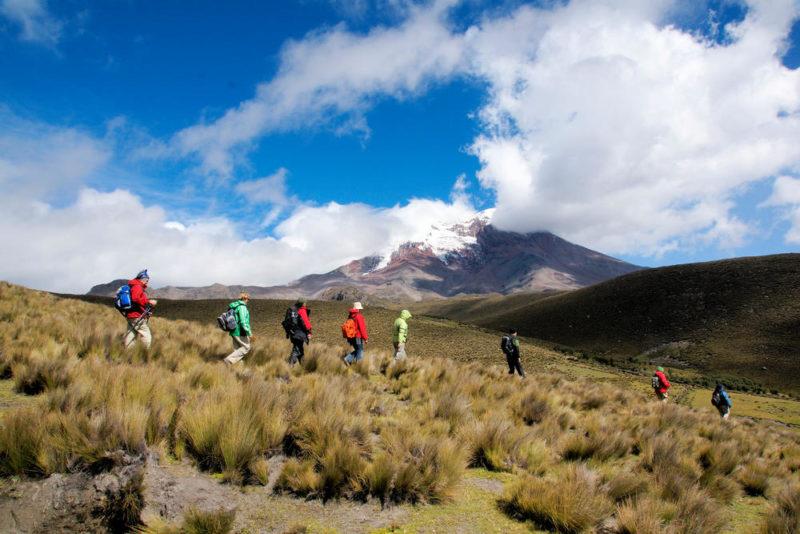 Wanderung am Chimborazo - Wolfgang Zahn - © Foto: fotografik Zahn