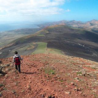 Wanderung bei La Geria - Sarah Becker