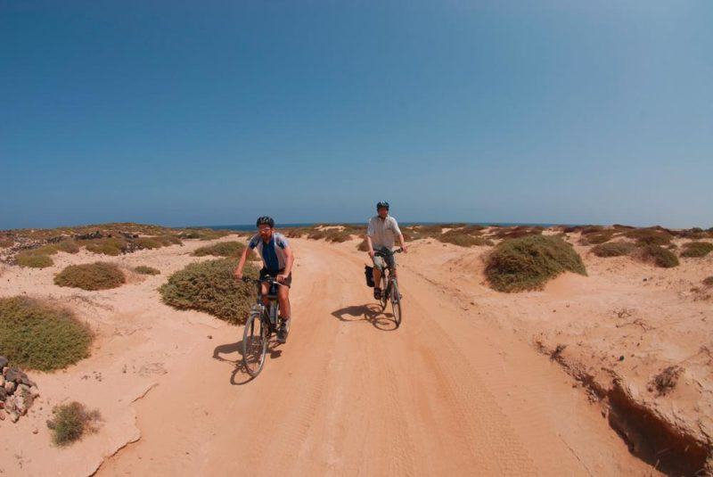 Playa de las Conchas auf der Insel La Graciosa - Volker Boehlke