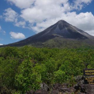 Vulkan Arenal - Fritz Fucik