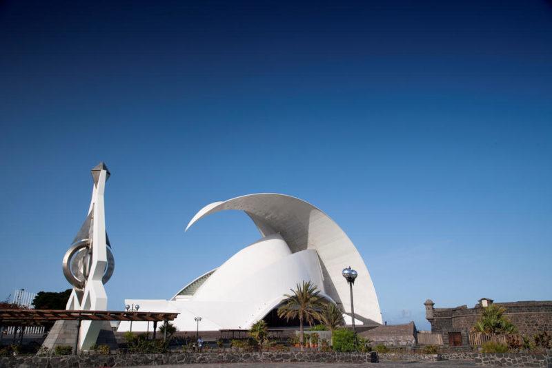 Auditorio in Santa Cruz - Turespaña - © Turespaña