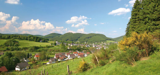 Siegerland - Feudingen erhalten vom Hotel Doerr in Feudingen -