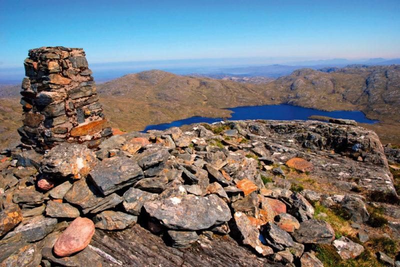 Aussicht am Grobhan (383 m) - Gerd Thiel