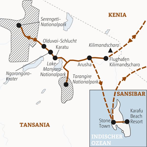Tansania Rundreisen junge Leute 2019