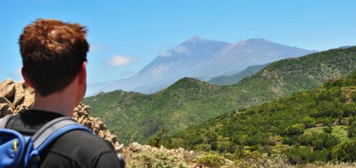 Teide-Blick bei Teno Alto - Melanie Rood