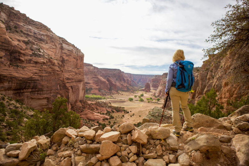 Wandergenuss im Canyon de Chelly - Susanne Lorenz - © S. Lorenz / ATW
