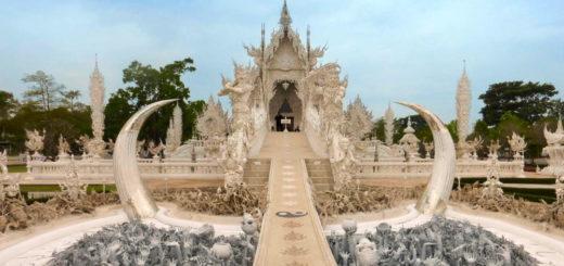Wat Rong Khun - der weiße Tempel - Julia Becker
