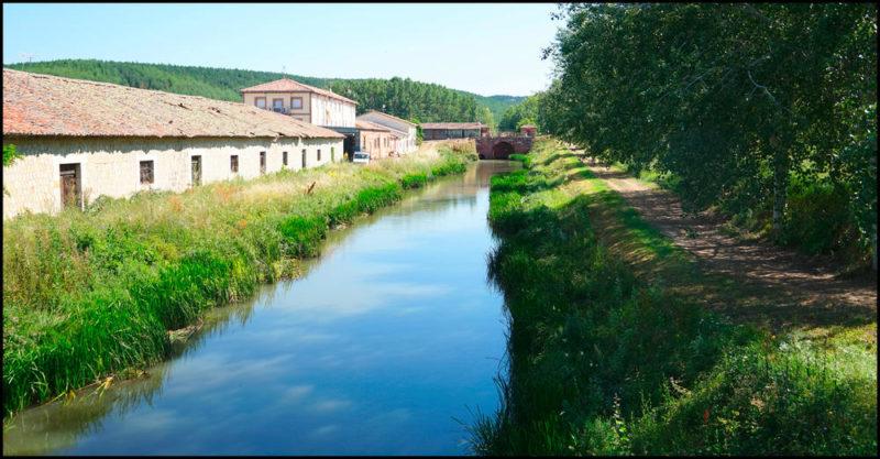 Canal de Castilla bei Alar del Rey - Natur Bike/Ramon Pereira