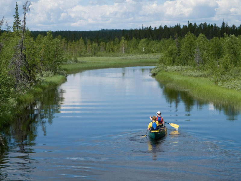 Harriniva am Fluss Muonio - Harriniva