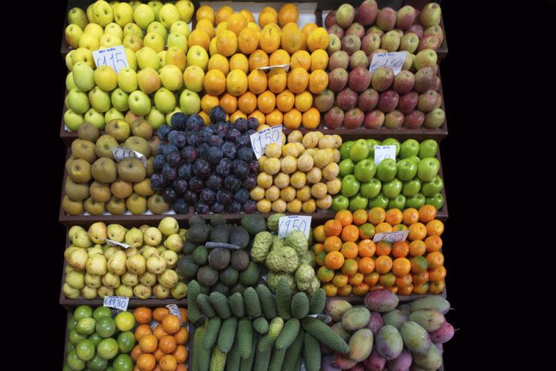 Auf dem Markt in Funchal - Klaus Hoffmann