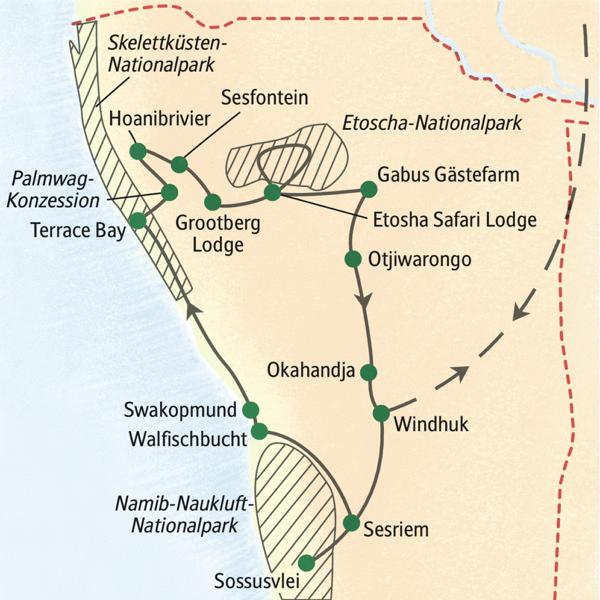 Namib Wüste Karte.Namibia Studienreise 2019 Himmel über Der Wüste Erlebnisrundreisen De