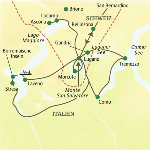 Lago Maggiore Karte.Tessin Lago Maggiore Studienreise 2019 Mit Muße