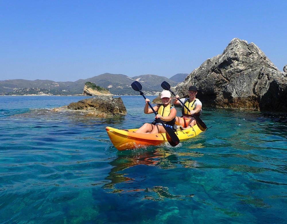 Sea-Kayak Fahrt an der Küste von Zakynthos - Gerd Thiel