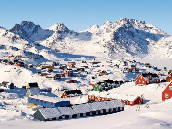 Winterlandschaft Ostgrönland - Rolf Schucker