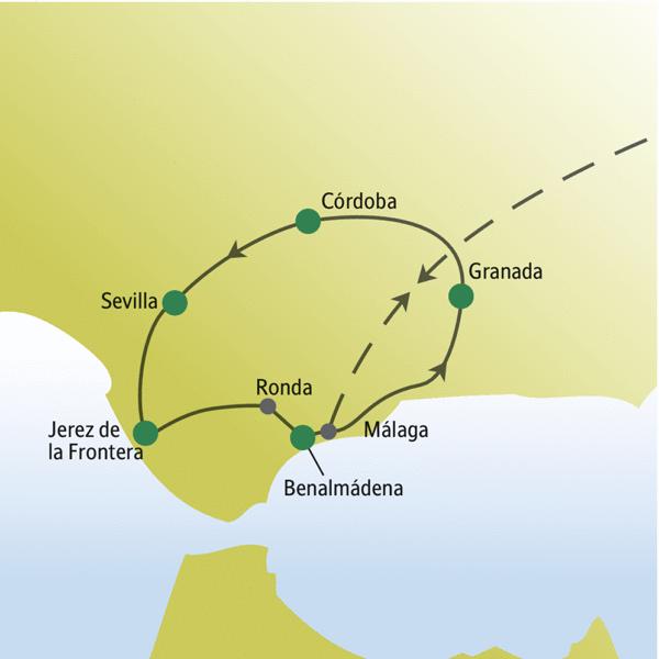 Andalusien Rundreisen für Alleinreisende 2019/2020