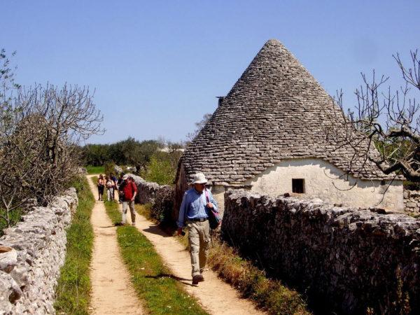 Trulli-Wanderung bei Alberobello - Guido Korzonnek