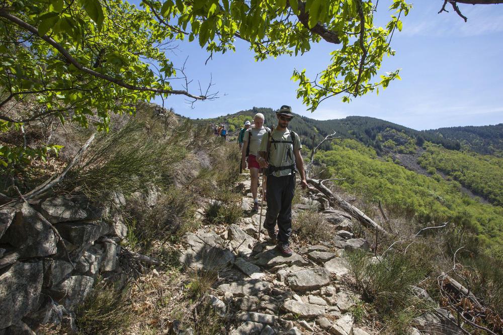 Wandern in der Ardèche - Fred Houel / Chemin Faisant