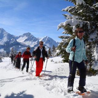 Schneeschuhwanderer - Peter Bartel