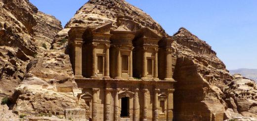 Kloster in Petra - Helmut Rolli