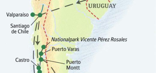 Die schönsten Nationalparks in Chile