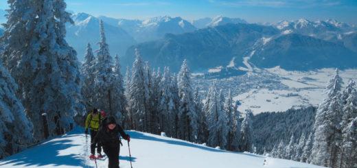 Schneeschuhwandern in den Alpen - Claudia Ortel