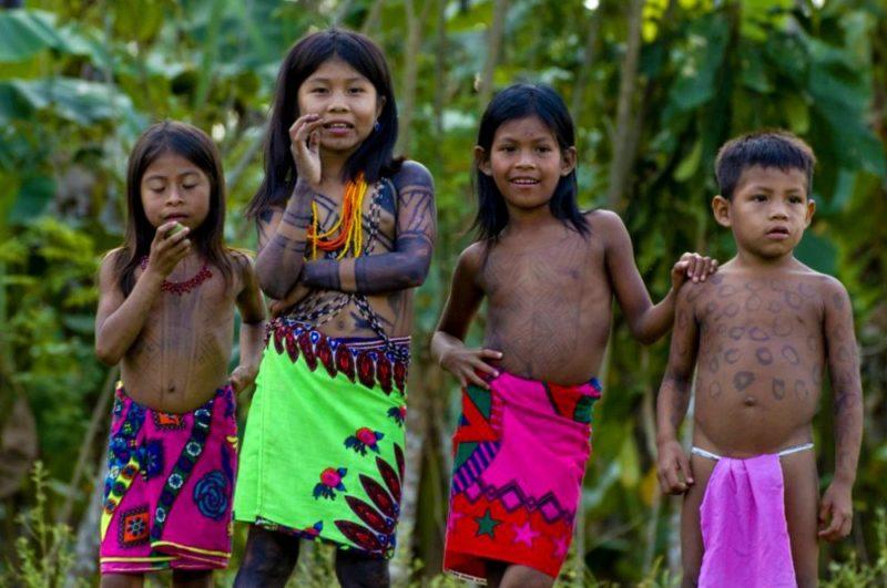 Embera Kinderin Panama