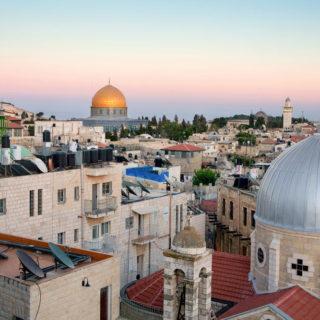 Jerusalems Altstadt bei Nacht - SK Tours in Nature