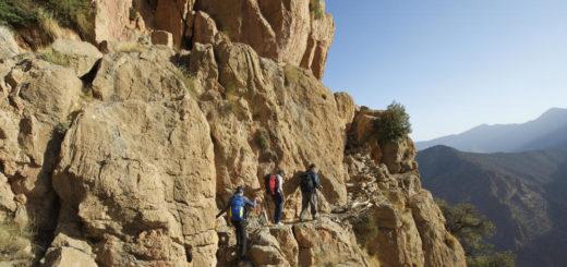 Durch die Felswand von Taghia - Darek Wylezol