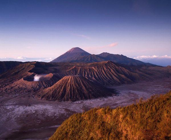 Mount Bromo bei Sonnenaufgang auf Java