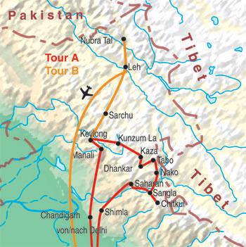 Kinnaur, Spiti, Lahaul & Ladakh