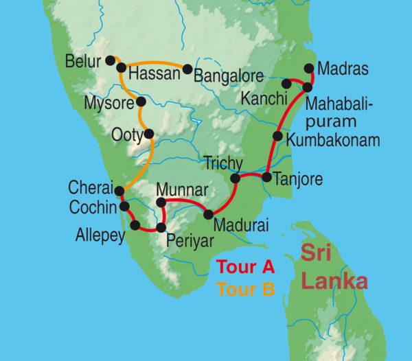 Zauberhaftes Südindien - Tempel, Gewürze & Natur