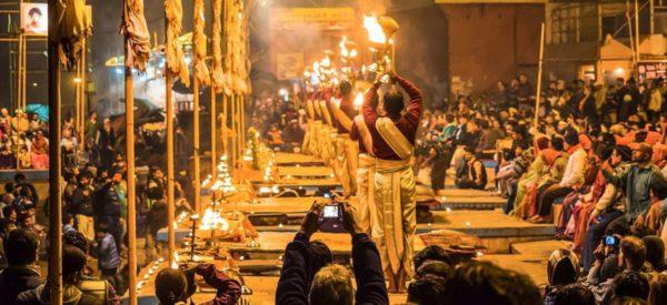 Zeremonie in Varanasi