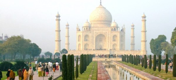 Märchenhaftes Taj Mahal