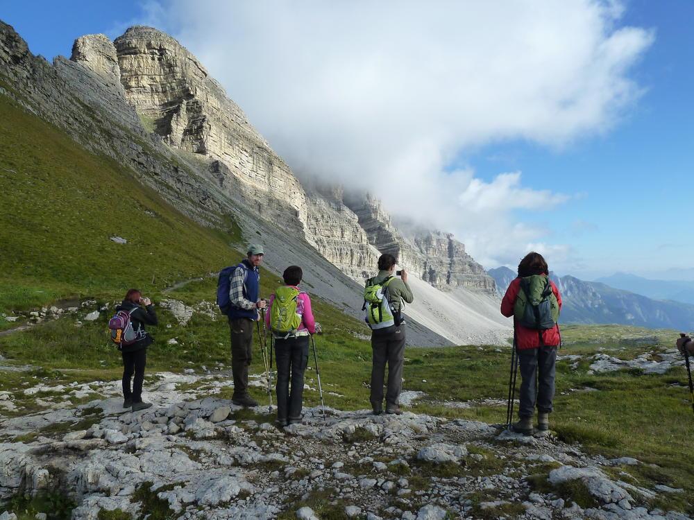 Passo Groste bei Madonna di Campiglio - Maria Kuschel
