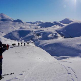 Auf Schneeschuhen zum Geothermalfeld - Dagmar Söndgerath