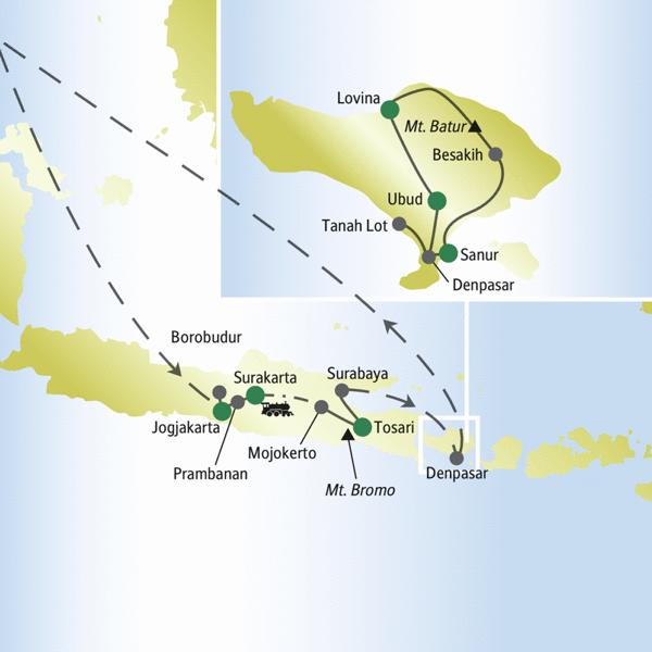 Java – Bali Rundreisen für Alleinreisende 2019/2020