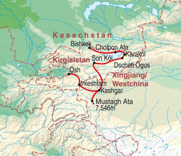 Abenteuer Seidenstraße - Kirgisistan & Westchina