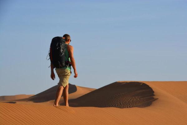 Wanderer in den Dünen - Katharina Jacobs